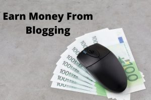 earn moey from blogging