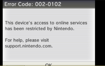3DS Ban