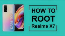 how to root realme x7