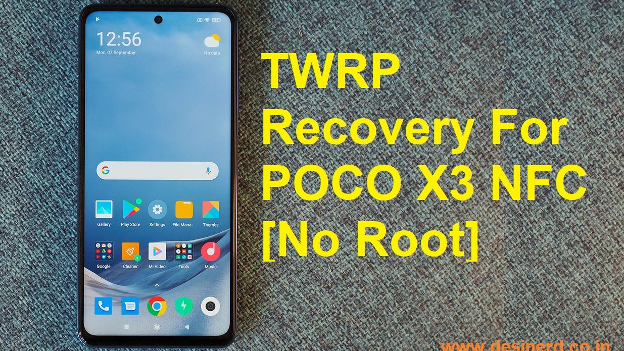 TWRP Recovery for Poco X3 NFC